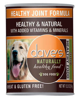 Dave's Naturally Healthy Joint Formula Canned Dog Food