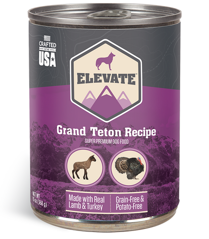 Elevate Grand Teton Canned Recipe Dog Food