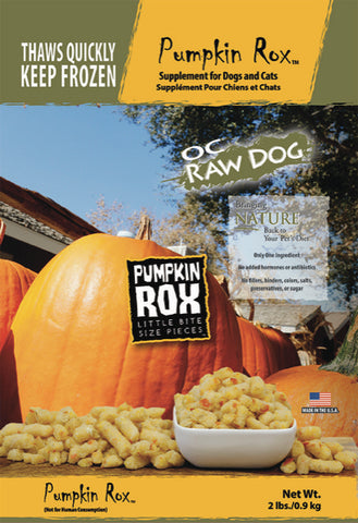 OC Raw Dog Pumpkin Dog Food