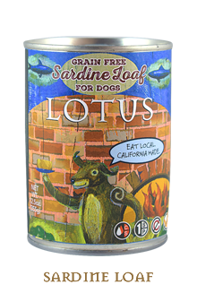 Lotus Sardine Loaf Dog Food