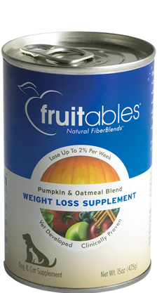 Fruitables Pumpkin SuperBlend Dog Weight Loss Supplement