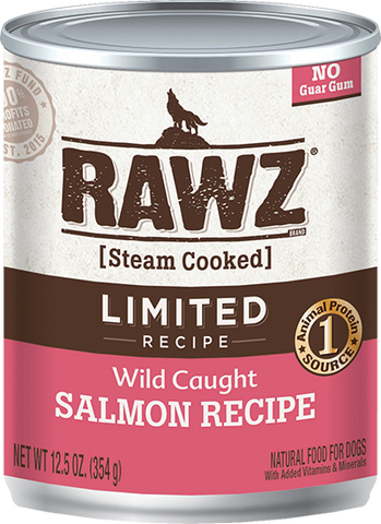 RAWZ Limited Recipe Wild Caught Salmon Canned Dog Food