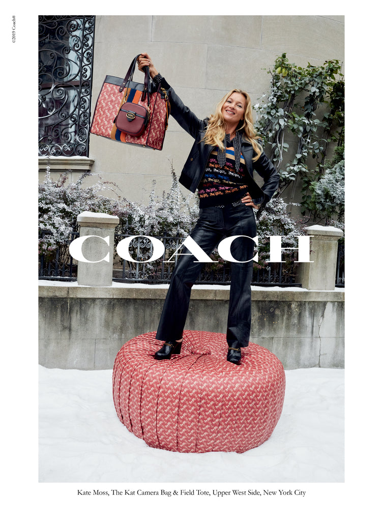 "De la mano de KATE MOSS, COACH presenta su nueva campaña de Holiday ""Wonder For All"""