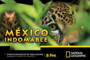 """México Indomable"", la nueva mini serie documental de National Geographic"