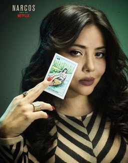"The New ""Reina"" of NARCOS: MEXICO (Netflix)"