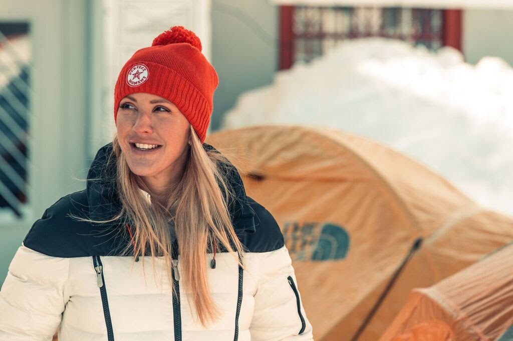 Ellie Goulding Wakes Up Davos to Climate Change