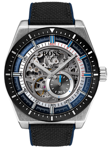 Hugo Boss Signature Time Piece Collection Skeleton Atheleisure