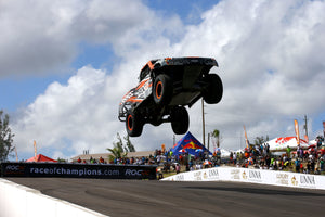 Robby Gordon brings his spectacular Stadium Super Trucks to ROC Mexico
