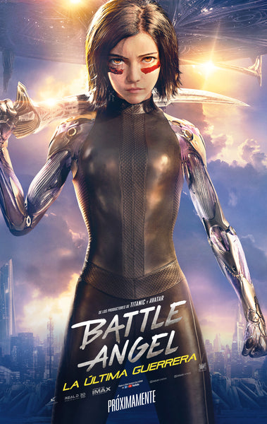 Battle angel: Laultima guerrera