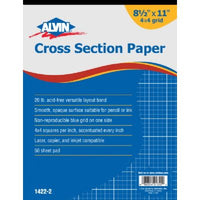 Alvin Cross Section Drawing Pads
