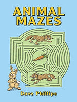 Coloring & Activity Books-Animals Mazes & Puzzles