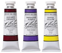 M. Graham 1.25 oz tubes of oil paint