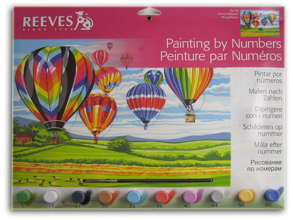Reeves Paint by Numbers