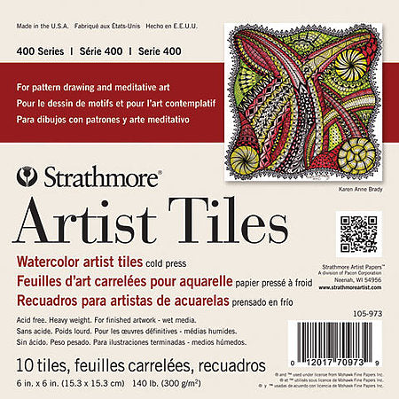 Strathmore 400 Series Artists Tiles
