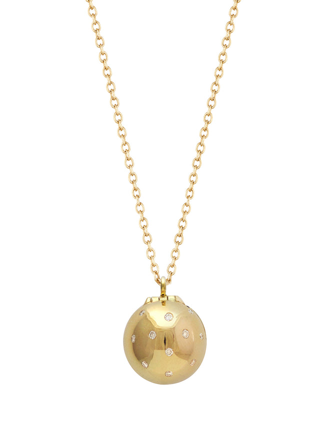 Star Diamond Sphere with Enamel