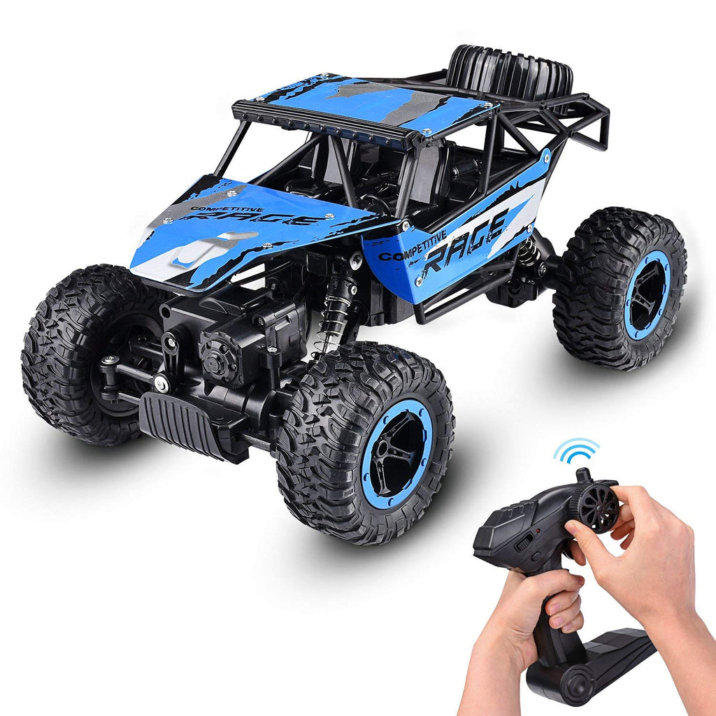 1:14 RC Jeep Rock Crawler Monster Truck Remote Car Dune Racer