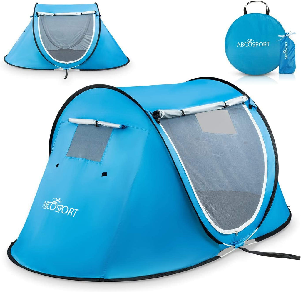 Pop-up Tent an Automatic Instant Portable Cabana Beach Tent - with Carrying Bag