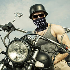 Motorcycle Face Mask and Neck Cover