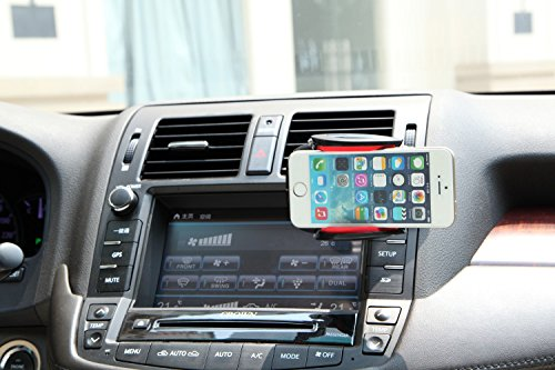 Abco Tech Air Vent Smartphone Car Mount with Push-In Mounting