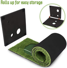 Abco Tech Golf Putting Green Mat Portable Synthetic Turf Mat for Practicing