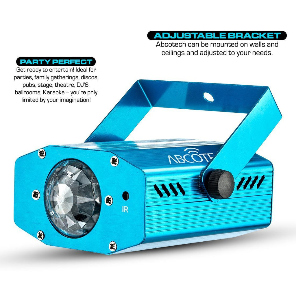 Party Projector Stage Light – 7 Color Disco Lights