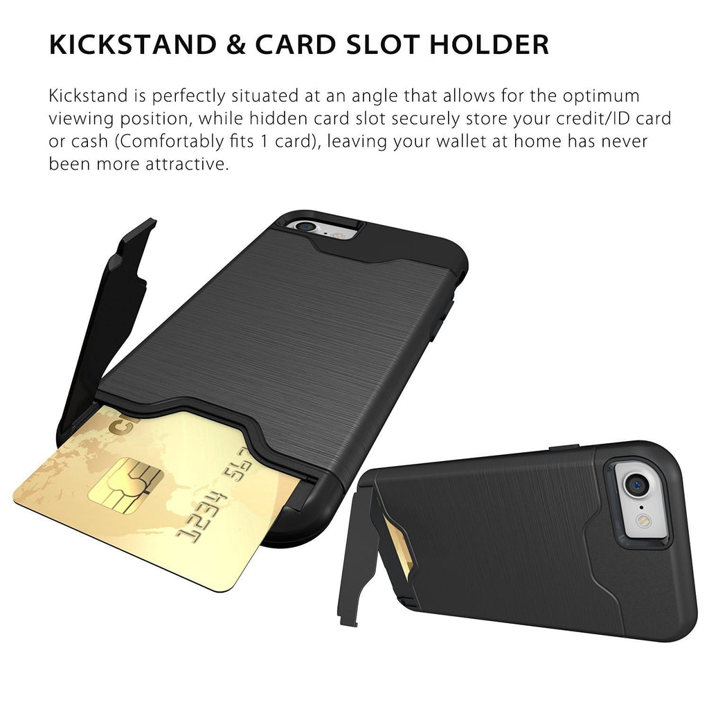 iPhone 7 and iPhone 7 Plus Case Cum Wallet
