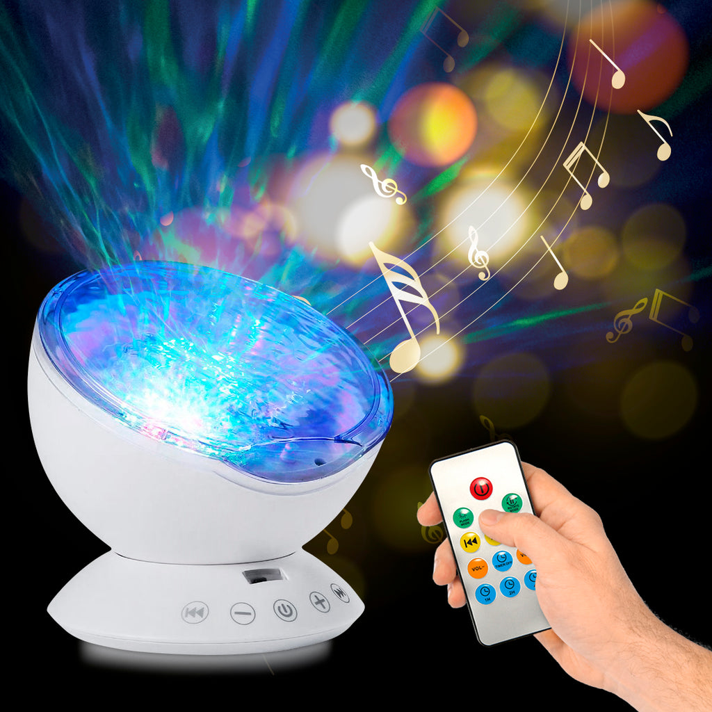Top Ocean Wave Light Projector - Remote Control