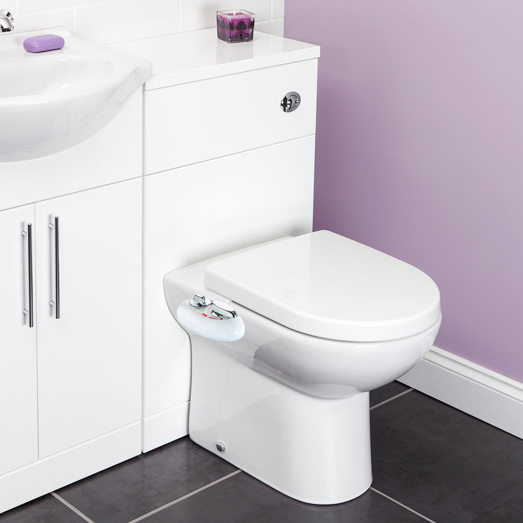 Cleaning Bidet - Non-Electric Mechanical Bidet Attachment