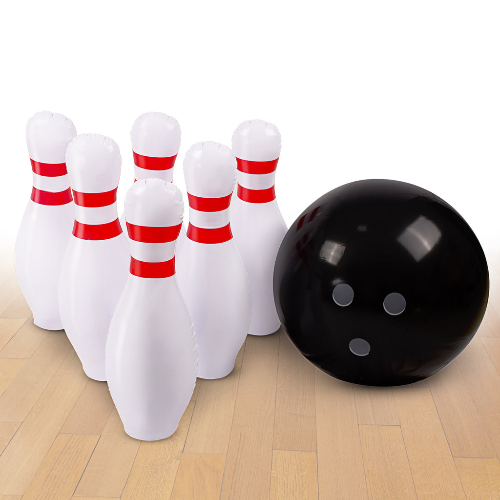 Inflatable Bowling Ball Set
