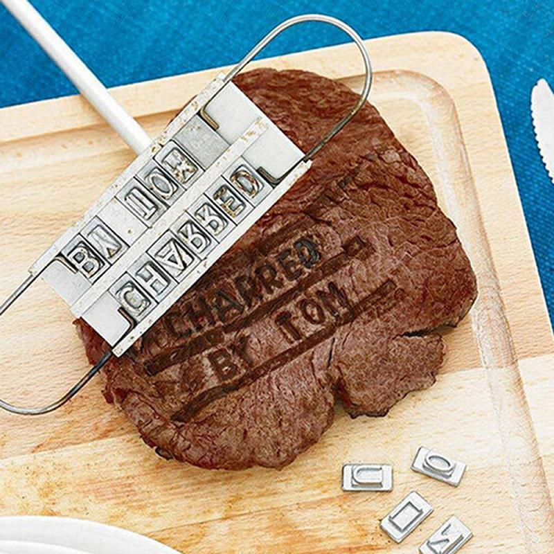 BBQ Branding Iron- Personalize Grilled Meats