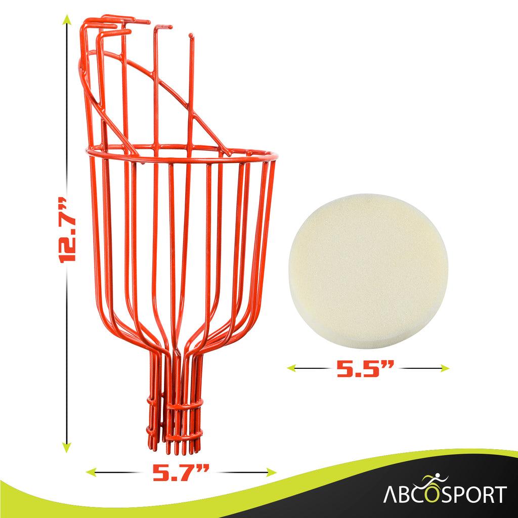 Fruit Picker Tool with Basket - 13ft Long Aluminum Telescoping Pole - Extra Lightweight
