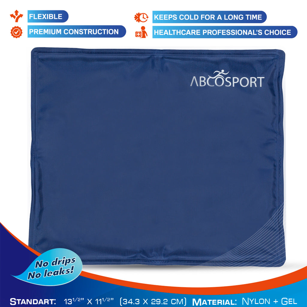 Knee Gel Ice Pack for Cold & Hot Therapy