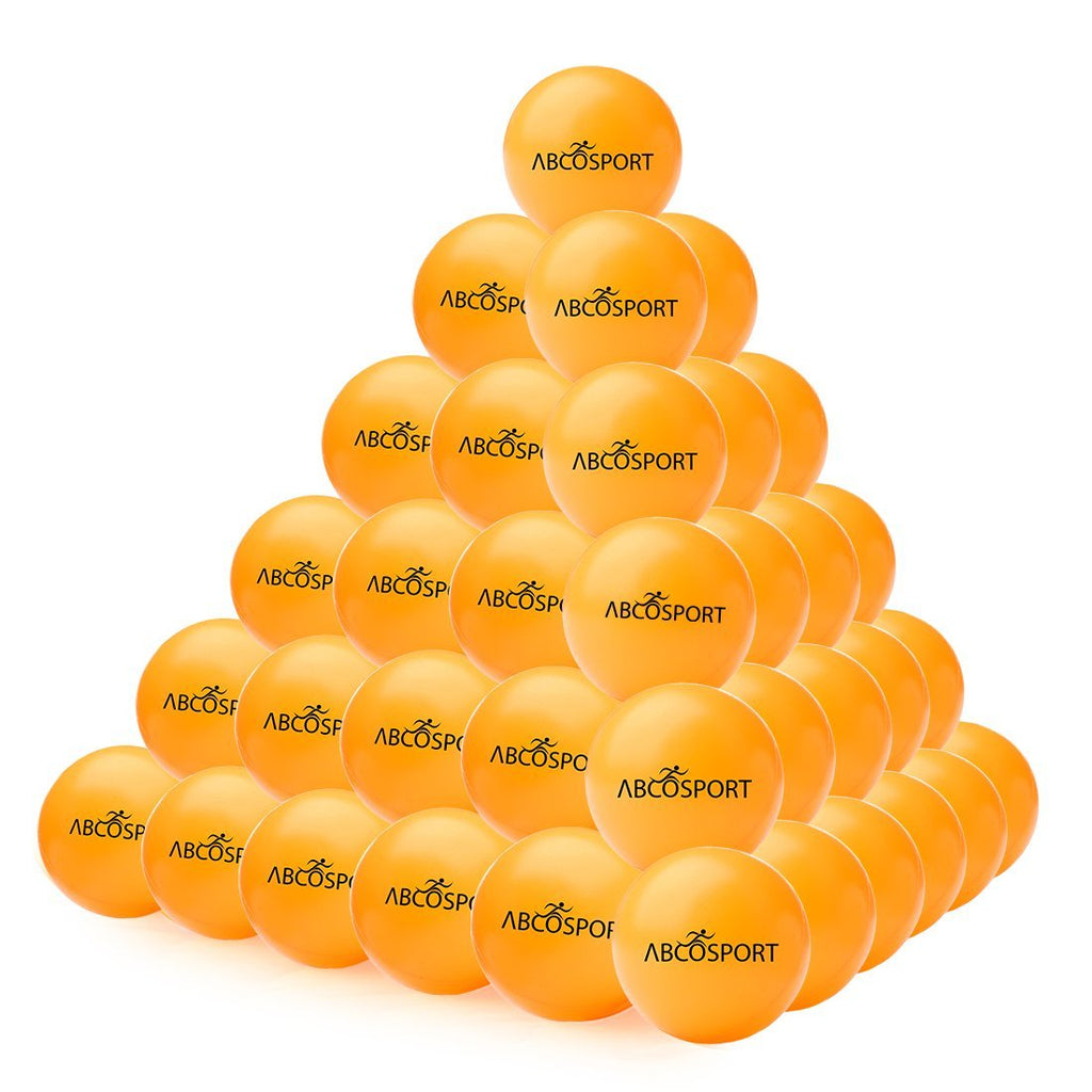 Ping Pong Balls – Set of 50-Pack Professional Grade Table Tennis Balls – 40mm Orange Balls