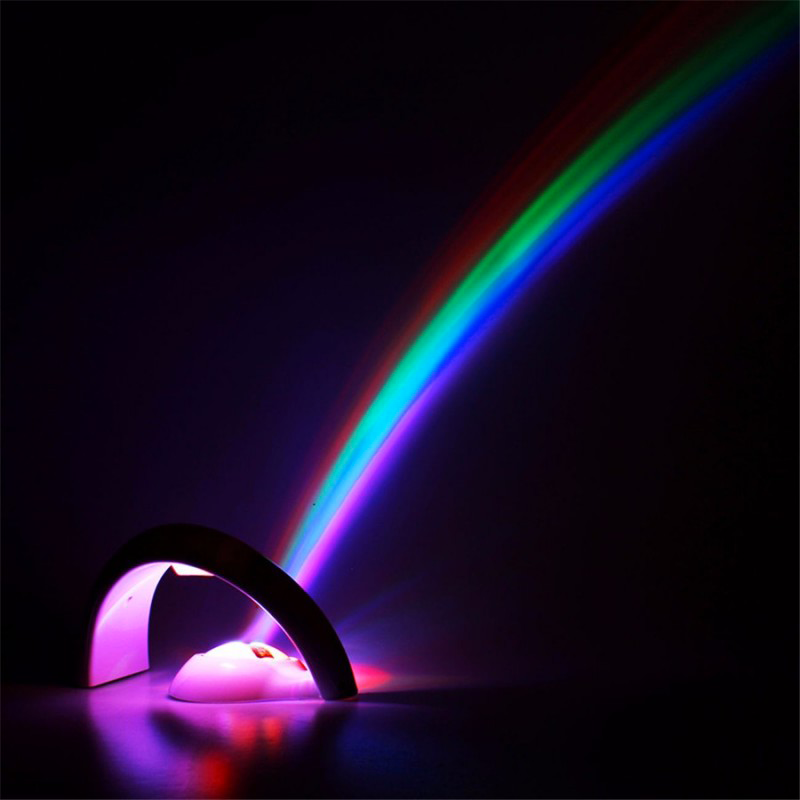Colorful Led Rainbow Light The Perfect Night Light Abco