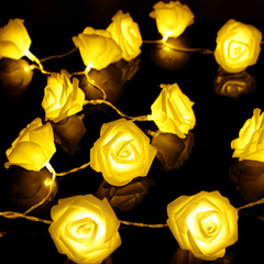 Events and Party String Roses with LED Lighting