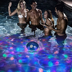 Water Resistant Wireless Floating Speaker with LED Lights