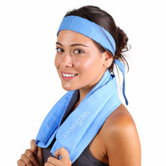 Cooling Towel and Bandana Set