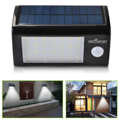 Solar Wall Light 28 Super Bright LED Lights