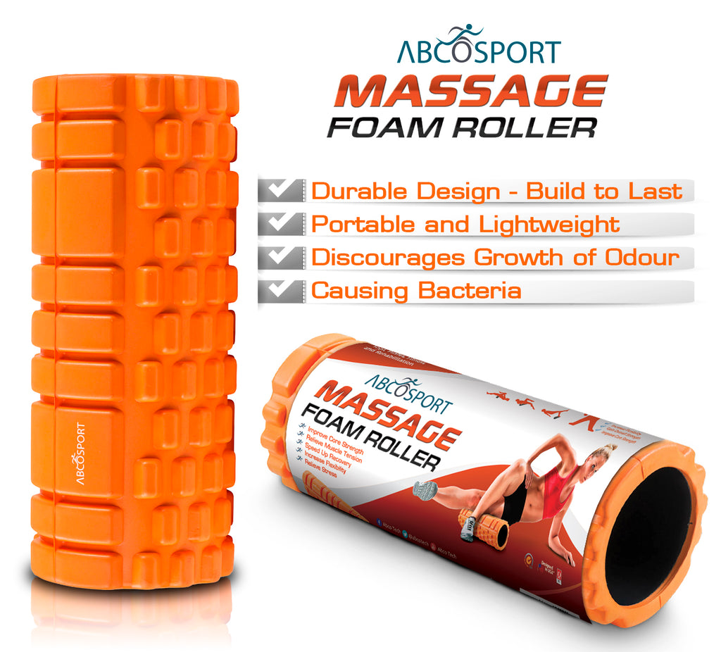 "Deep-Tissue Massage Foam Roller - 13"" x 5"""