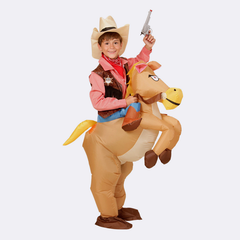 Inflatable Children Animal Costumes- Cowboy, Dinosaur and Unicorn