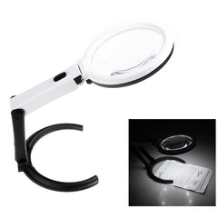 Portable LED Magnifying Glass