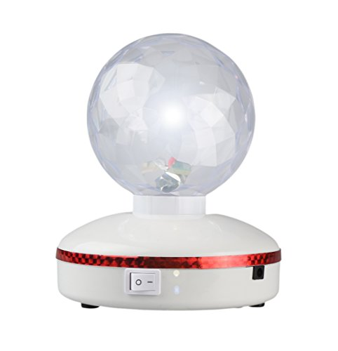 Disco LED Rotating Crystal Ball
