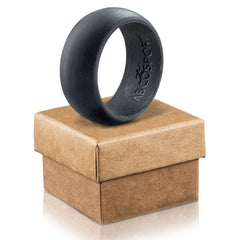 Silicone Ring- Flexible Wedding Ring For Athletic Active Lifestyle Man or Women- Comes With A Giftbox!