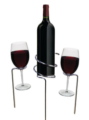 Basily Wine Stake Set