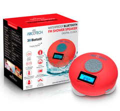 Bluetooth Shower Speaker with FM Radio and LCd Display