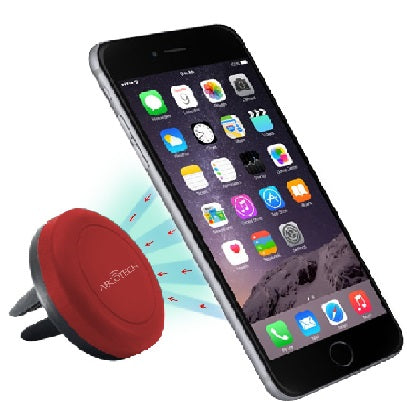 Air Vent Smartphone Car Mount w/ Magnetic Mounting Technology