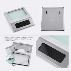 Solar LED Address Doorlight