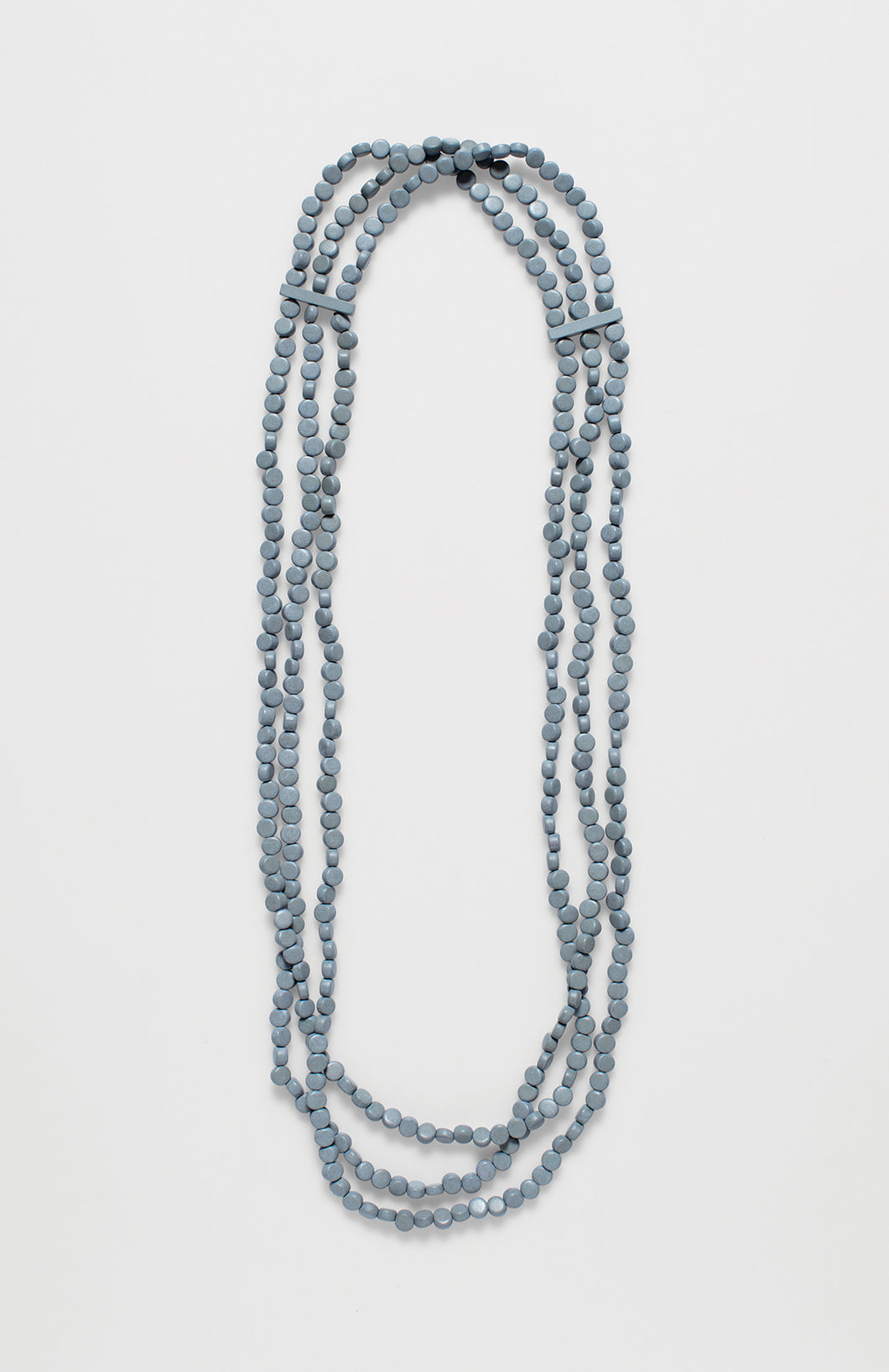 Wai Triple Beaded Necklace