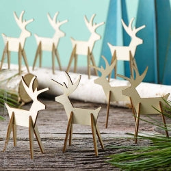 Alpine Reindeer Set of 8