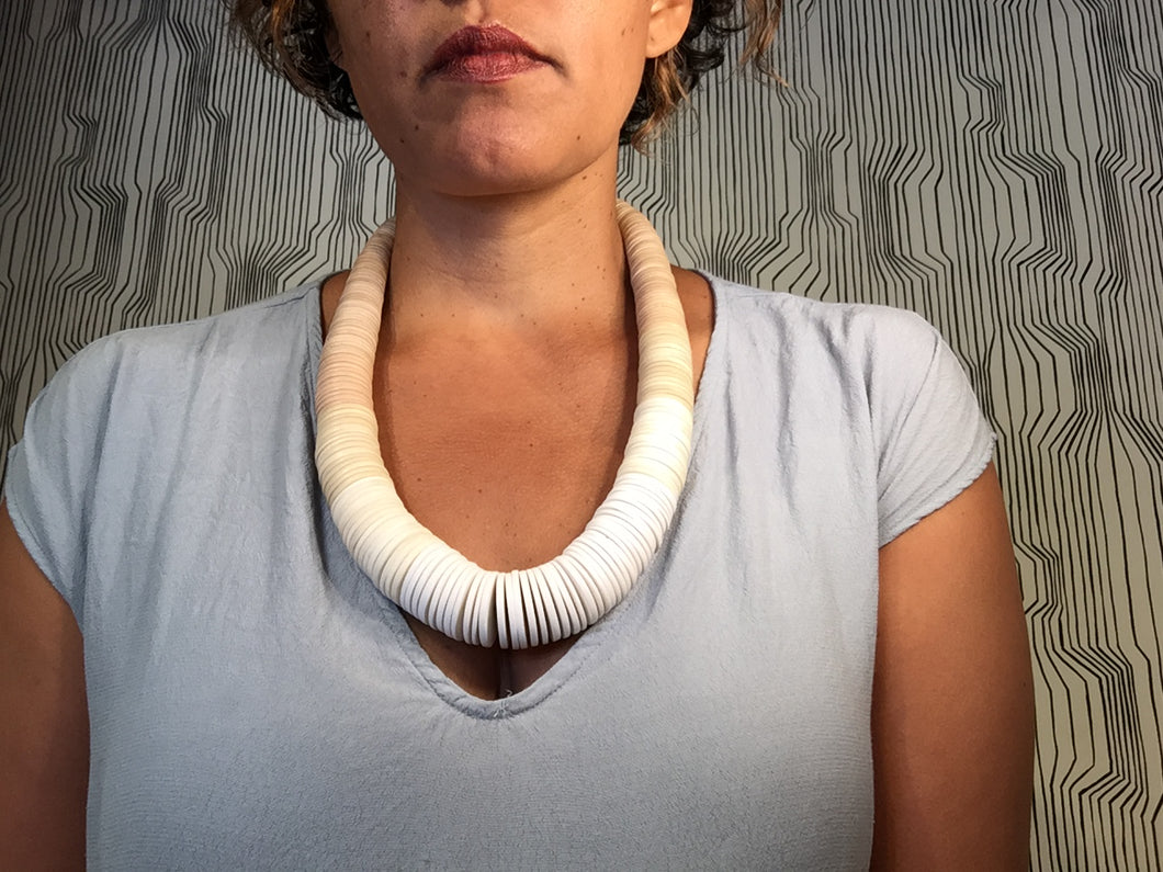 Wooden Ombre Necklace